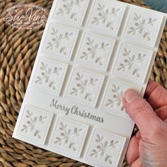 Miss Pinks Craft Spot: White Christmas for Crazy Crafters Blog Hop | Special Guest Jenny Hall