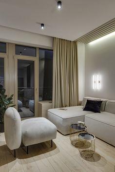 Interior design & architecture studio from kyiv. Interior Design Ideas for Your Modern Home Studio Interior, Interior Design, Home Comforts, Neutral Tones, Architecture Design, Behance, House Design, Beige, Living Room