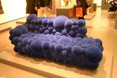 Purple Bubble Sofa