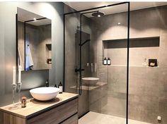 Bathroom Shelf Decor, Rustic Bathroom Shelves, Bathroom Vinyl, Diy Bathroom, Modern Farmhouse Bathroom, Vanity Decor, Bathroom Inspo, Bathroom Inspiration, Small Bathroom