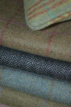 Scottish tweed, available from Pumblechook.
