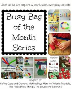 The Educators' Spin On It: Letter Bugs Busy Bag
