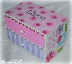 The Decorative Paintbrush: Official blog of MOLLICArt: Designs by Mary Mollica: Jewelry Boxes