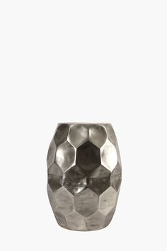 Crafted from aluminium with a honeycomb detail, this side table has a modern look to suit a room with an eclectic decorative style. Aluminium No assembly r Decor, Side Table, Table, Honeycomb, Lap Tray, Decor Gifts, Room, Coffee Table, Eclectic