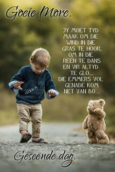 Lekker Dag, Quotes For Whatsapp, Goeie More, Morning Wish, Dog Food Recipes, Sun Light, Afrikaans, Qoutes, Lilac