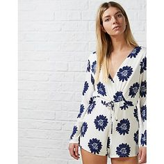 WE HEART: She Likes By Lucy Watson Lucy Floral Playsuit #madeinchelsea #shelikes