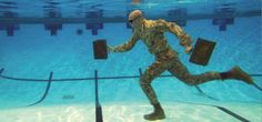 Too cold to run outside? Hit the pool for a water-running workout.