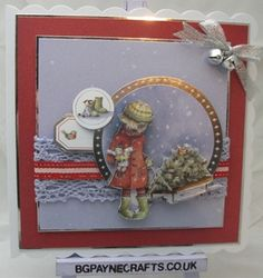 ANITA/'S FOILED CHRISTMAS DECOUPAGE CHRISTMAS WREATHS FOR CARDS /& CRAFT