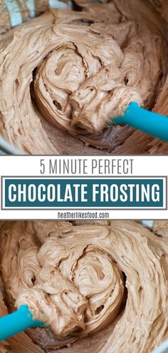 Hot chocolate in the West Indies - Clean Eating Snacks Homemade Chocolate Icing, Whipped Chocolate Frosting, Chocolate Buttercream Icing, Chocolate Frosting Recipes, Homemade Frosting, Homemade Desserts, Dessert Recipes, Homemade Cheesecake, Cheesecake Recipes