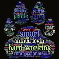 e2365b5ae Amazing Vet Techs (Veterinary Technicians) Word Cloud Crew Neck T-Shirt, V  Neck Tee Shirt and Hoodie