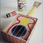 Handmade Guitar from Read and Draw Magazine