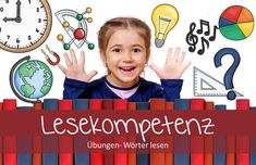 Learn German with fun: Lesekompetenz in der Grundschule- Material