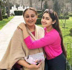 Sayesha Saigal  Mother  dashing  Love Ghajinikanth Actress Sayyeshaa Saigal 2018 Cute Images All Indian Actress, Indian Actress Gallery, Indian Actresses, Cute Images, Arya, Casual Shirts, Cinema, Style, Fashion