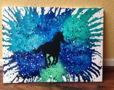 Piano fondu colorie art par CrayonGogh sur Etsy