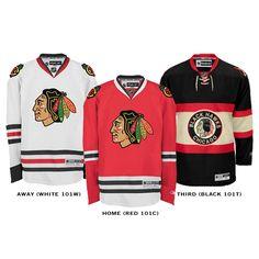 Chicago Blackhawks Jersey's