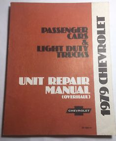 16 best vintage manuals images manual, user guide, truck1979 chevrolet passenger cars \u0026 light duty trucks unit repair manual (overhaul)
