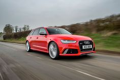 All the car that anybody could ever need, Audi RS 6 performance