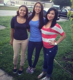 Lesly, Daisy and I. #JuniorYear