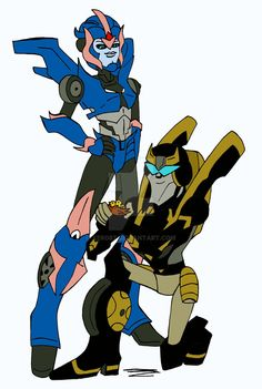 Prime meets Animated by xero87 on DeviantArt