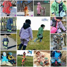 eBook - Oooverall #DasganzeKinddrinDing - Kinder nähen - Schnittmuster - Schlafanzug, Schlafsack, Overall, Jogger, Lümmelanzug, Spieler, Jumper, Jumsuit, Romper - Glückpunkt.