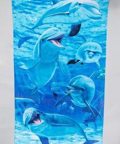 Look what I found on #zulily! Blue Dolphin Beach Towel by Island Gear #zulilyfinds