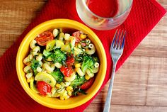 Summer Veggie Pasta Skillet - Iowa Girl Eats