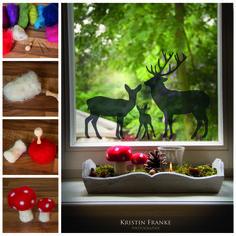 Machen wir uns nichts vor! Der Herbst steht vor der Tür und wir finden das wunderbar! Bei uns bekommst Du nicht nur neue herbstliche Fensterbilder, sondern auch gleich noch eine Bastelanleitung. Wir haben uns mal im Filzen probiert und ein Fenster dekoriert. Kinderleicht und hübsch anzuschauen Viel Spaß und herbstliche Grüße, Euer Wandmotive-Team Das Fensterbild findest Du übrigens hier: http://www.wandmotive.de/Kaufen/Fensterbilder/Herbst/Fensterbild-Rehfamilie.html