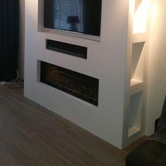 Haard / TV meubel