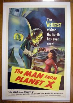 MovieArt Original Film Posters - MAN FROM PLANET X, THE (1951) 16846, $6,000.00 (http://www.movieart.com/man-from-planet-x-the-1951-16846/)