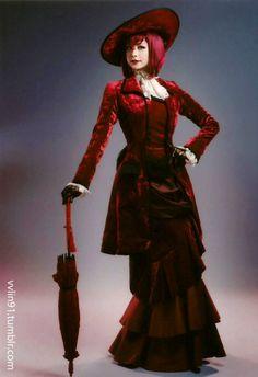 Musical Kuroshitsuji: Lycoris that Blazes the Earth 2015 Character Bromides  AKANE LIV as Madam Red