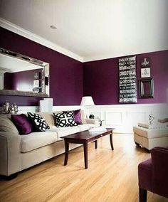 Wohnzimmer Lila – coole Einrichtungsideen im Lila | Wohnzimmer ...