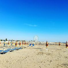 Summer is coming beach is ready. #italy#Rimini#beach#sea#seacost#italianstyle#lifestyle#instamood#instagood# by petia2012
