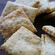 パルメザンチーズの簡単クラッカー