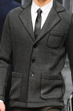 Textured #suit from #Roccobarocco Men's Details A/W '13