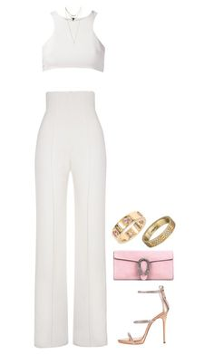 """""""let me show u"""" by andy993011 ❤ liked on Polyvore featuring Yves Saint Laurent, Giuliana Romanno, Wet Seal, Giuseppe Zanotti, Gucci and Cartier"""