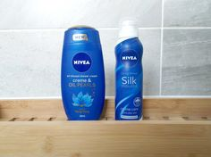 Nivea creme and oil pearls shower mousse creme care review