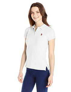 U.S. Polo Shirt Assn. Juniors' Short-Sleeve Polo Shirt