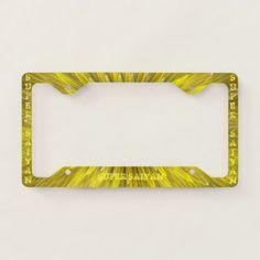 SUPER SAIYAN Auto License Plate Frame  $18.95  by BettyCruz  - custom gift idea