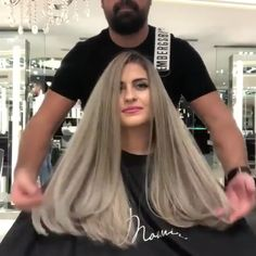 Gorgeous Hair Color, Beautiful Long Hair, Hair Color Balayage, Hair Highlights, Hair Color Formulas, Hair Upstyles, Hair Color Techniques, Stylish Hair, Hair Videos