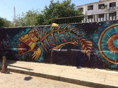 Santa Marta street art, Colombia