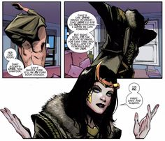 I also like that now when female Loki no longer looks exactly like Sif.