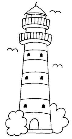 Diversos Sea Faróis imagem de impressão 1