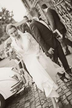 by JenzFlare People- & Hochzeitsfotograf Saarbrücken, Germany #wedding #bride #veil #dress #tuxedo #witness  #ring #marriage Wedding Pictures, One Shoulder Wedding Dress, Wedding Dresses, People, Fashion, Bride Dresses, Moda, Bridal Gowns, Fashion Styles