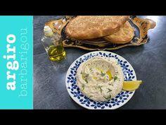 Παραδοσιακή ταραμοσαλάτα με ψωμί από την Αργυρώ Μπαρμπαρίγου | Υπέροχη, πεντανόστιμη, χωρίς χρωστικές ουσίες. Απολαύστε την με φρέσκο, σπιτικό ζεστό ψωμάκι! Dips, Food And Drink, Ethnic Recipes, Youtube, Sauces, Dip, Youtubers, Youtube Movies