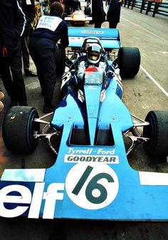 Jackie Stewart - Tyrrell Ford 1971