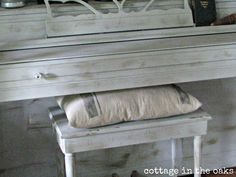 chalk paint, painted rooms, benches, crafti, piano painted, paint finishes, paint piano, painted pianos, diy