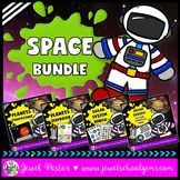 Space Activities Bundle ★ Planets Activities + Solar Syste