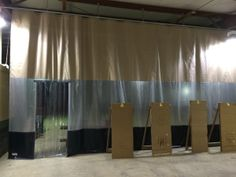 Industrial Curtain Created for Barn Separation & Insulation Shooting Club, Shooting Sports, Industrial Curtains, Insulation, Flow, Barn, Create, Home Decor, Olympic Shooting