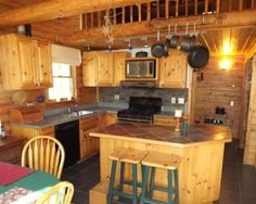 Knotty Pine Cabinets Are Rustic Kitchen Cabinets