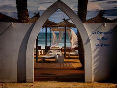 La siesta one of the most beautiful beach bars in Javea
